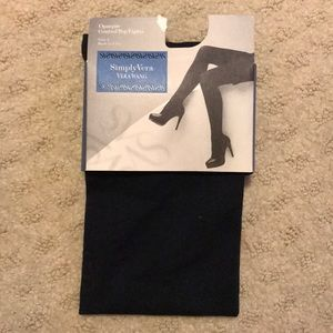 Size one never worn or opened navy tights